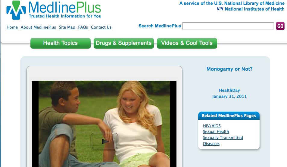 Sexual health check video portal