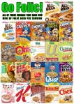 Cereals that contain 100% (400 mcg) of the RDA for folic acid