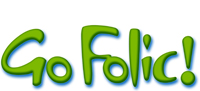 The logo of Go Folic! UK!