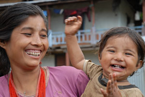 The Micronutrient Initiative's programs in Nepal help pregnant women get the folic acid and iron that they need to have healthy babies.