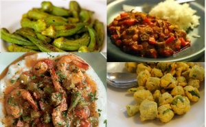 We love these okra dishes