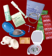 various birth control methods