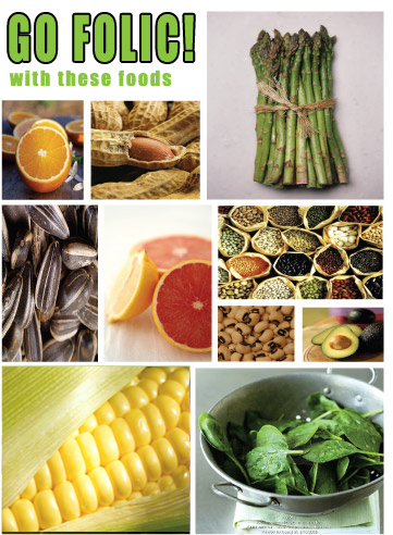 food with folic acid