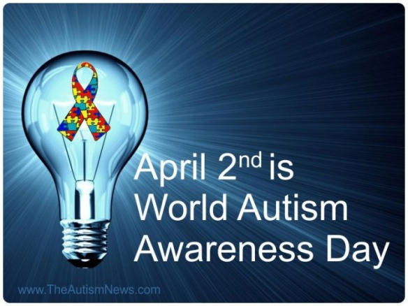 April 2 is World Autism Awareness Day