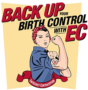 Back up your birth control with EC