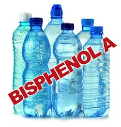 plastic water bottles are among the products that contain BPA