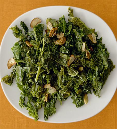 Garlicky Sauteed Greens