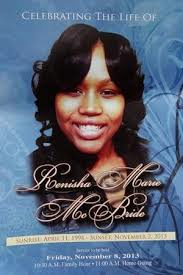 Renisha McBride funeral cover