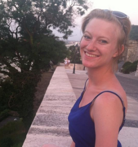 Here is Susannah in Budapest, Hungary this past June.